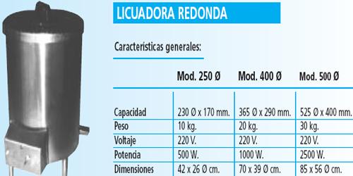 LICUADORAS TR