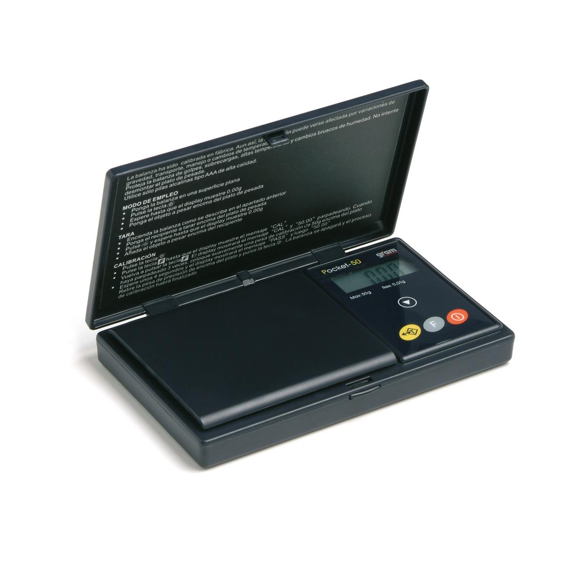 balanza o peso de 500 gramos Pocket