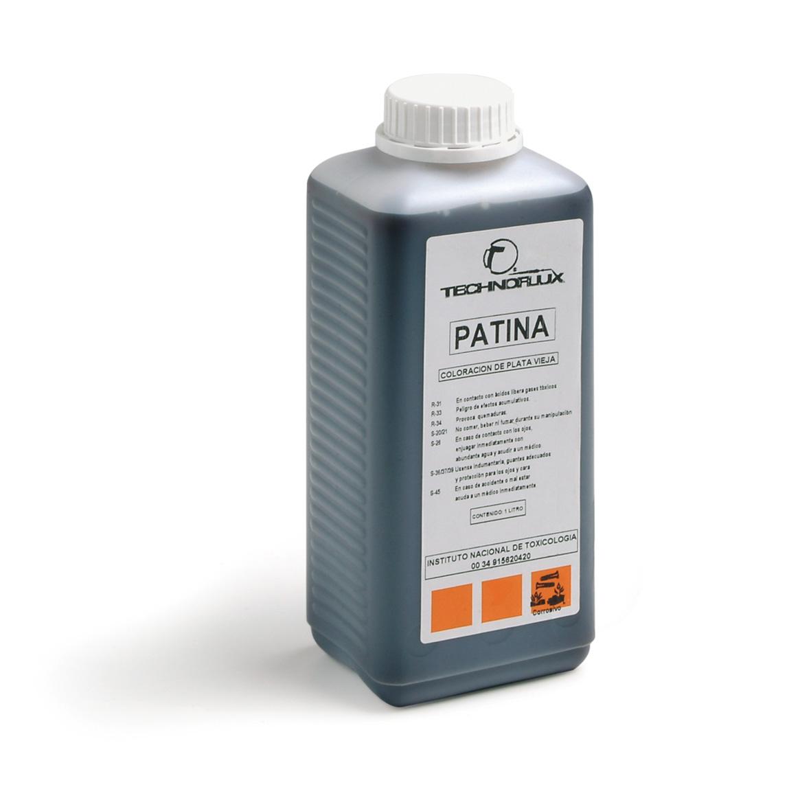 patina o oxidante de plata